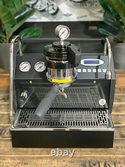 La Marzocco Gs3 Mp 1 Group Manual Paddle Custom Black Espresso Coffee Machine
