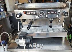 La Marzocco Linea 2 Group Espresso Coffee Machine With Pump / Filter & Handles