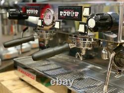 La Marzocco Linea Classic 2 Group Orange Espresso Coffee Machine Commercial Cafe