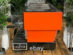 La Marzocco Linea Classic 3 Group Orange Espresso Coffee Machine Maker Cafe Bar