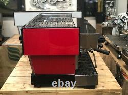 La Marzocco Linea Classic 4 Group Red Chronos Touchpads Espresso Coffee Machine