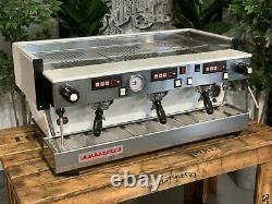La Marzocco Linea Classic Av 3 Group White Espresso Coffee Machine Chrono Touchp