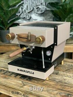 La Marzocco Linea Mini 1 Group Mp Custom Sand & Timber Espresso Coffee Machine
