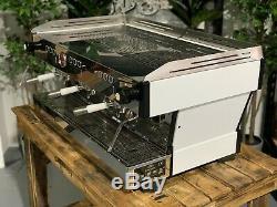 La Marzocco Linea Pb 3 Group White Silver Handles Espresso Coffee Machine Custom
