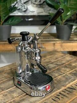 La Pavoni Europiccola 1 Group Chrome Brand New Espresso Coffee Machine Home