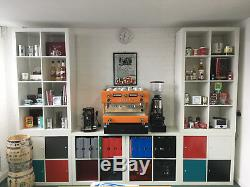 La Pavoni Pub 2S Two Group Lever Espresso Coffee Machine INC VAT PRICE REDUCED