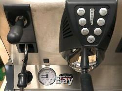La San Marco 100e Dark Grey 3 Group Espresso Coffee Machine Restaurant Cafe Bean