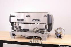 La San Marco 80E 2 Group Commercial Espresso Coffee Machine (Matte Black)