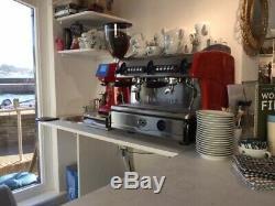 La Spaziale S5 2 Group Compact Espresso Machine- Red