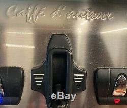 La Spaziale S5 2 Group silver and white Cappuccino and Espresso coffee machine