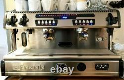 La spaziale S5 2 Group espresso commercial coffee machine RED