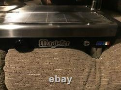 Magister dual fuel 2 group LPG/Electric commercial coffee espresso machine