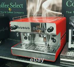 NEW Iberital IB7 2 Group Compact Espresso Machine in RED or BLACK £1999+VAT