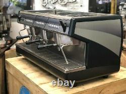 Nuova Simonelli Appia 3 Group Black Espresso Coffee Machine Commercial Cafe Bar