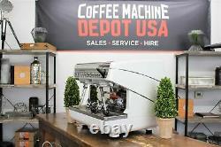 Nuova Simonelli Appia II Compact Smart Wand NSF 2 Group Espresso Coffee Machine