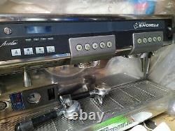 Nuova simonelli aurelia espresso machine, 2 group, wbc specification