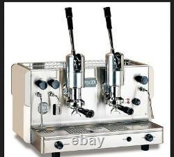 Palanca 2 Group Coffee Machine Silver