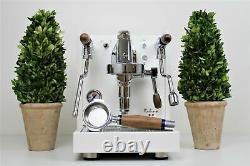 Quick Mill Rubino All White Edition 1 Group Espresso Coffee Machine