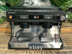 Rancilio Baby 9 2 Group Black Espresso Coffee Machine Commercial Wholesale Cafe