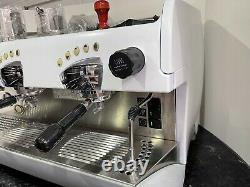 Rancilio Epoca 2 Group Commercial Espresso Coffee Machine Free Barista Kit