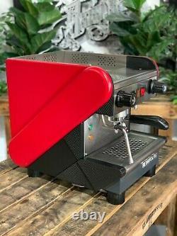 Rancilio S26 1 Group Red Semi Automatic Espresso Coffee Machine Commercial Home