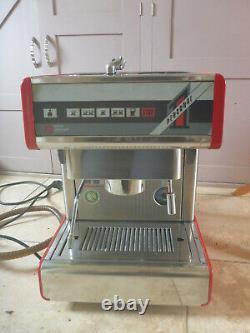 Red NUOVA SIMONELLI Personal 1 Single-group Commercial Espresso Coffee Machine