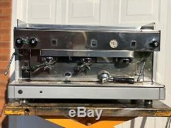 Refurbished Dual Fuel Lpg Wega 3 Group Espresso Coffee Machine 6 Months Warranty