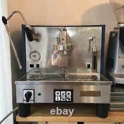 Refurbished Upgraded 1 Group Fiorenzato Ducale Espresso Coffee Machine Blue