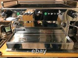 Rocket Espresso Boxer Coffee Machine 2 group head