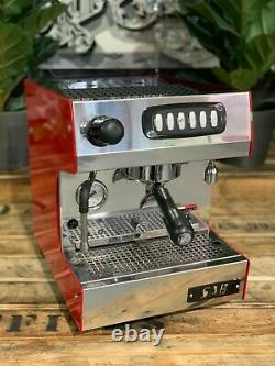 Sab Nobel 1 Group Red Tank Or Plumbed Espresso Coffee Machine Commercial Home