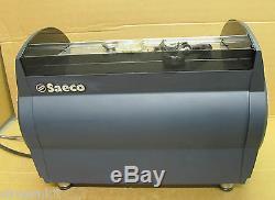 Saeco Aroma SE 200 2 Group Espresso Cappucino Coffee Machine Faulty for spares