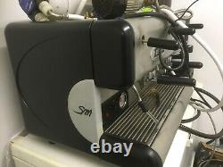 San Marco 85 E Commercial 2 Group Espresso Coffee Machine Serviced
