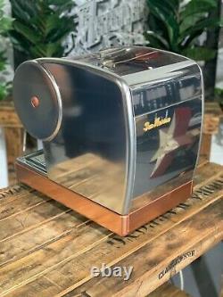 San Marino Lisa Junior 1 Group Stainless Espresso Coffee Machine Domestic Home