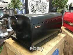San Marino Lisa R 3 Group Dark Grey Espresso Coffee Machine Commercial Cafe Bean