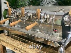 Slayer Espresso 3 Group Timber Espresso Coffee Machine Commercial Cafe Wholesale