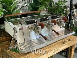 Slayer Steam X 3 Group White Espresso Coffee Machine Commercial Wholesale Cafe