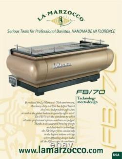 Stunning La Marzocco Linea Fb3 3 Group Coffee / Espresso Machine