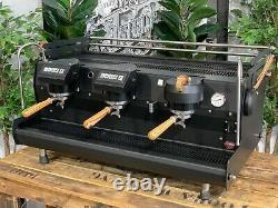Synesso Sabre Hybrid 3 Group Matte Black / Skateboard Espresso Coffee Machine