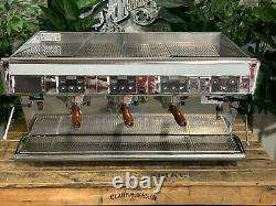 Unic DI Stella Caffe 3 Group Chrome Espresso Coffee Machine Commercial Barista S