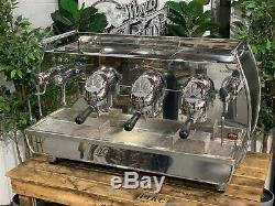 Victoria Arduino Adonis 3 Group Black Espresso Coffee Machine Commercial Bar