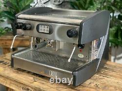 Visacrem Brava 1 Group Black Espresso Coffee Machine Commercial Wholesale Cafe
