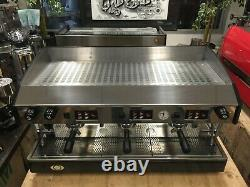 Wega Atlas 3 Group Black Grey Espresso Coffee Machine Commercial Wholesale Cafe
