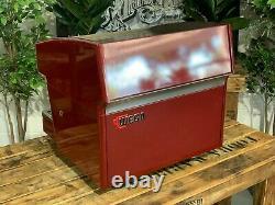 Wega Atlas Compact Evd 2 Group Red Espresso Coffee Machine Commercial Wholesale