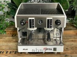 Wega Atlas Compact Evd 2 Group White Espresso Coffee Machine Commercial Cafe