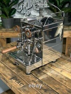 Wega Mininova Classic 1 Group Brand New Wooden Accents Espresso Coffee Machine