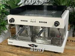 Wega Pegaso 2 Group Brand New White Espresso Coffee Machine Commercial Cafe