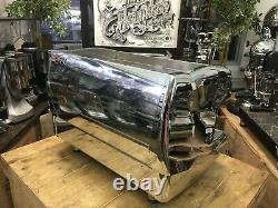 Wega Polaris 2 Group Chrome Espresso Coffee Machine Commercial Cafe Barista Cup