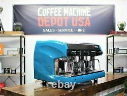 Wega Polaris 2 Group in Lagoon Blue Commercial Espresso Coffee Machine