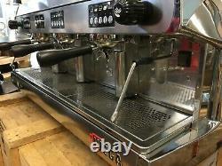 Wega Polaris 3 Group High Cup Chrome Espresso Coffee Machine Cafe Restaurant