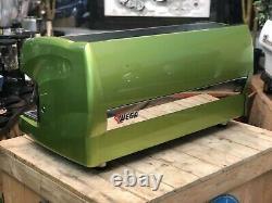 Wega Polaris 3 Group Metallic Green Espresso Coffee Machine Commercial Wholesale